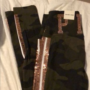 Brand new with tags small army sequin leggings